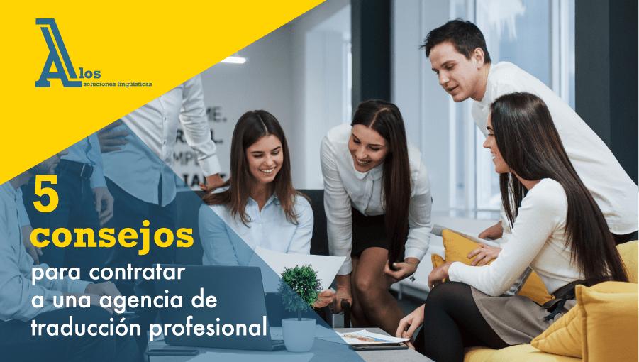 agencias de traducción profesionales